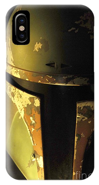 Boba Fett Helmet 124 IPhone Case