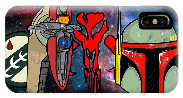 Boba Fett Icons Phone Case by Gary Niles