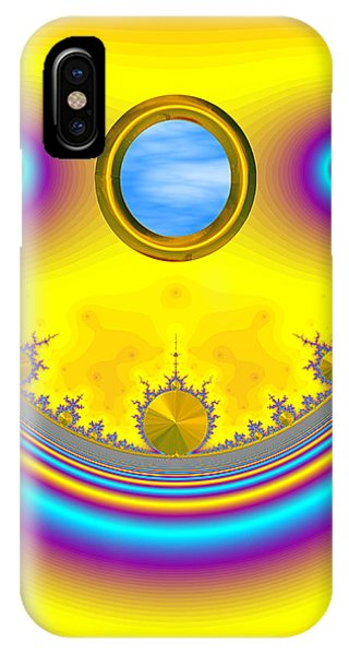 Bobby's Blue Skies IPhone Case