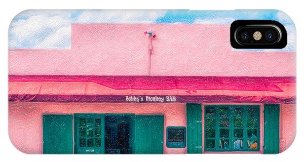 Bobby's Monkey Bar IPhone Case