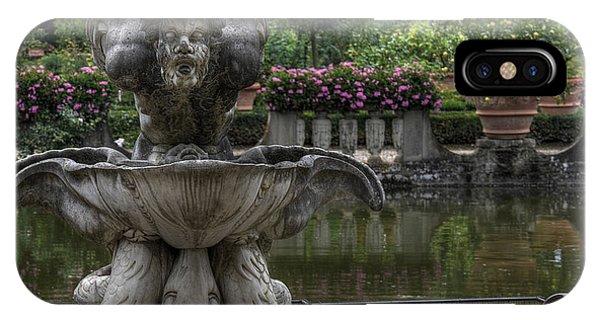 Boboli Fountain IPhone Case
