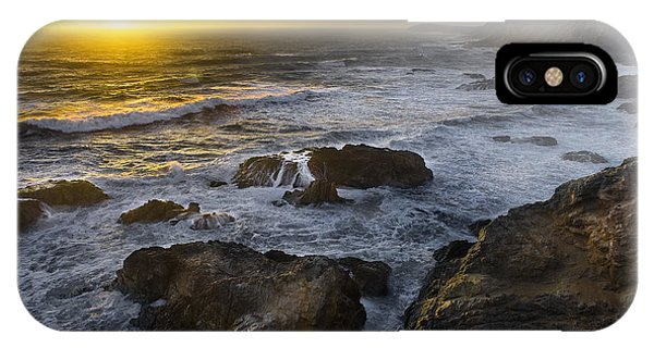 Bodega Head At Sunset IPhone Case