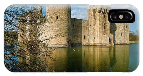 Bodiam Castle Phone Case by David Ross