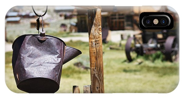 Bodie Ghost Town 2 - Old West IPhone Case