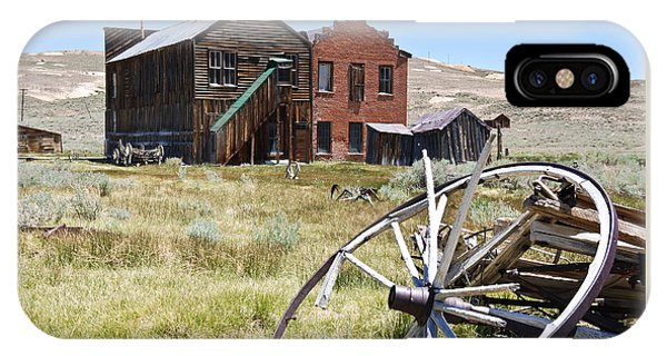 Bodie Ghost Town 3 - Old West IPhone Case