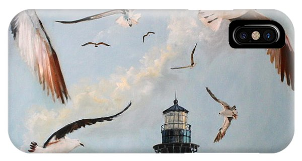 iPhone Case - Bodie Island Fly By by Karen Langley