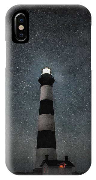Bodie Island Light Midnight IPhone Case