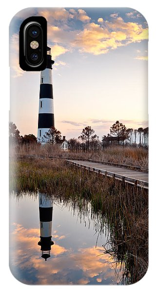 Bodie Island Lighthouse - Cape Hatteras Outer Banks Nc IPhone Case