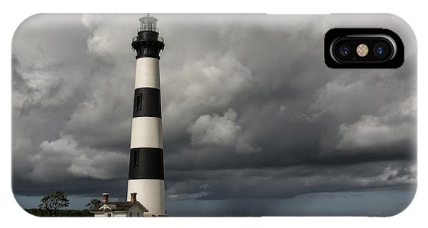 Bodie Island Lighthouse Stands Tall IPhone Case