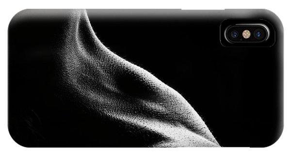Dark iPhone Case - Bodies 13 by Jackson Carvalho