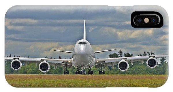 Boeing 747-800 IPhone Case