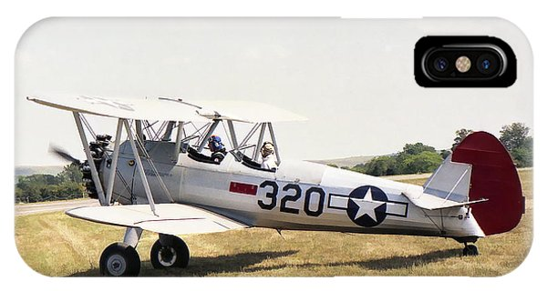 IPhone Case featuring the photograph Boeing Stearman by Paul Gulliver