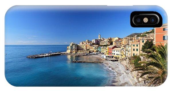 Bogliasco Village. Italy IPhone Case