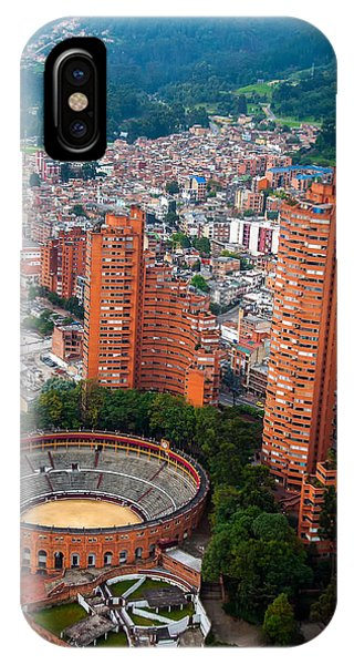 Colombia iPhone Case - Bogota View by Jess Kraft