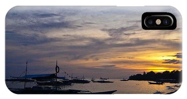 Bohol Sunset IPhone Case