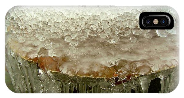Boiling Ice IPhone Case