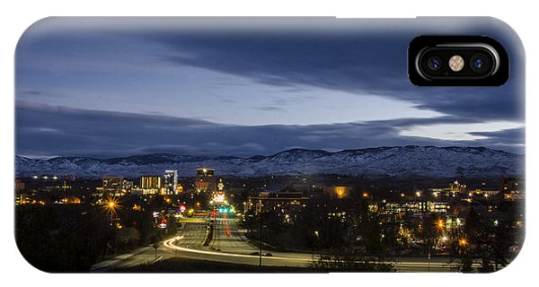 Boise Dawn 2 IPhone Case