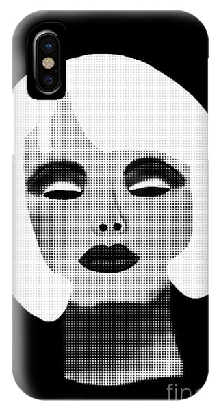 Bold Blonde Beauty IPhone Case