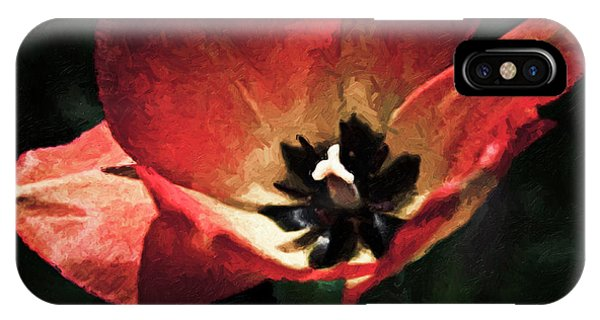 Bold Springtime Tulip IPhone Case