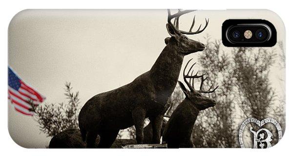 Boldt Castle Deer IPhone Case