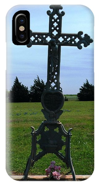 Bomarton Catholic Cemetery 8 IPhone Case