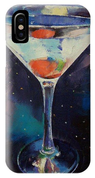 Bombay Sapphire Martini IPhone Case