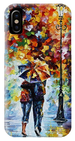 iPhone Case - Bonded By Rain 2 by Leonid Afremov