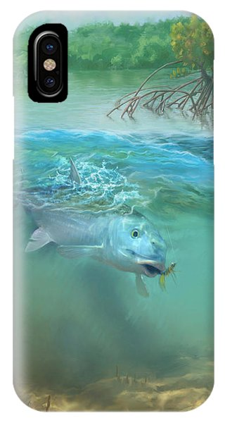 Bone Fish IPhone Case