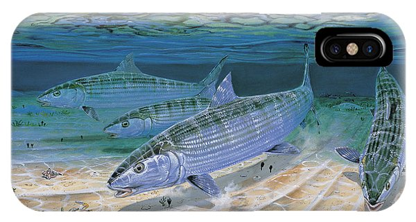 Bahamas iPhone Case - Bonefish Flats In002 by Carey Chen