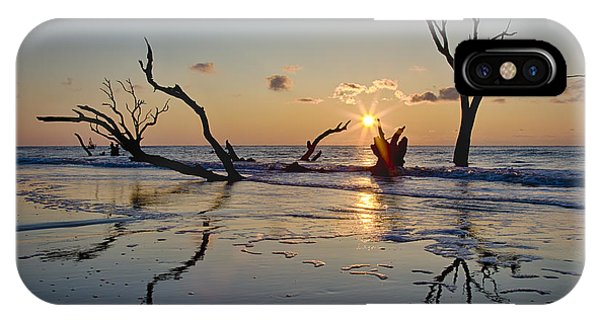 Boneyard Beach Sunrise IPhone Case