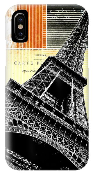 Bonjour Paris  IPhone Case