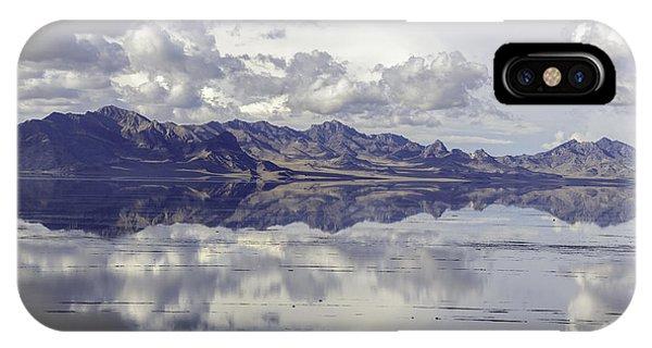 Bonneville Salt Flats IPhone Case