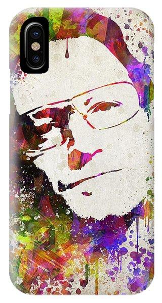 Bono In Color IPhone Case
