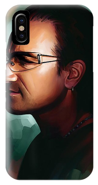 Bono U2 Artwork 1 IPhone Case