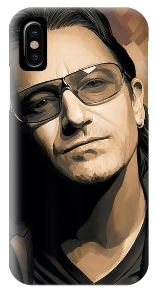 Bono U2 Artwork 2 IPhone Case