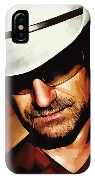 Bono U2 Artwork 3 IPhone Case