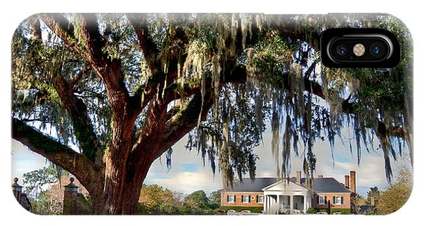 Boone Hall Mansion IPhone Case