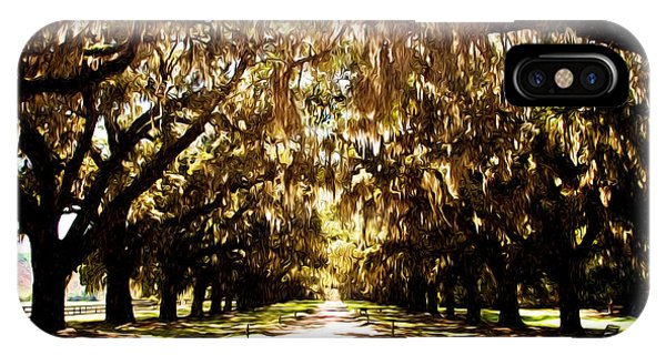Boone Plantation IPhone Case