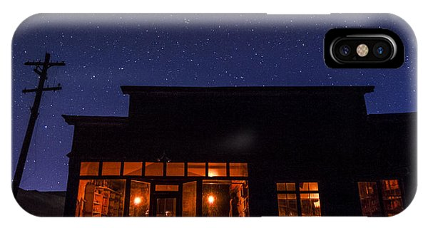Bodie Ghost Town iPhone Case - Boone Store And Warehouse by Cat Connor