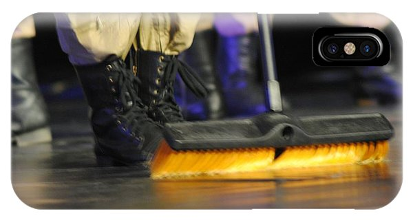 Boots And Brooms IPhone Case