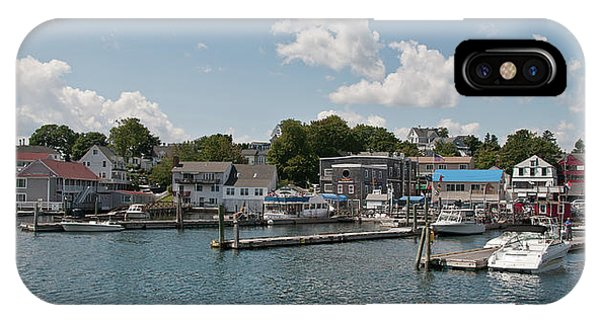 Boothbay Harbor 1242 IPhone Case