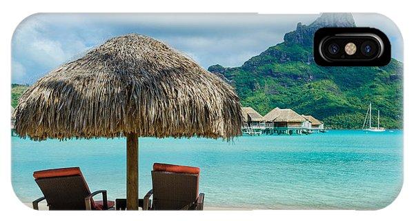 Bora Bora Beach IPhone Case