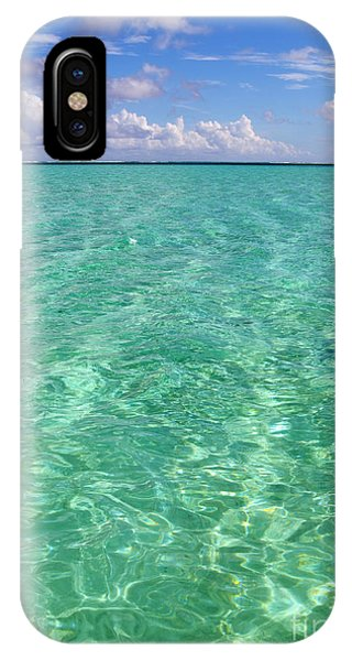 Bora Bora Green Water II IPhone Case