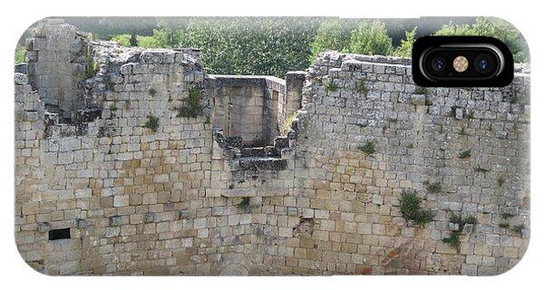 Bordeaux Castle Ruins With Vineyard IPhone Case