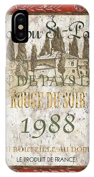 Estate iPhone Case - Bordeaux Rouge 1 by Debbie DeWitt