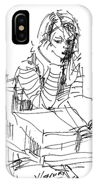 Sketch iPhone Case - Bored by Ylli Haruni