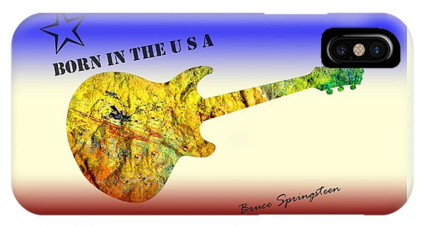 Born In The U S A Bruce Springsteen IPhone Case