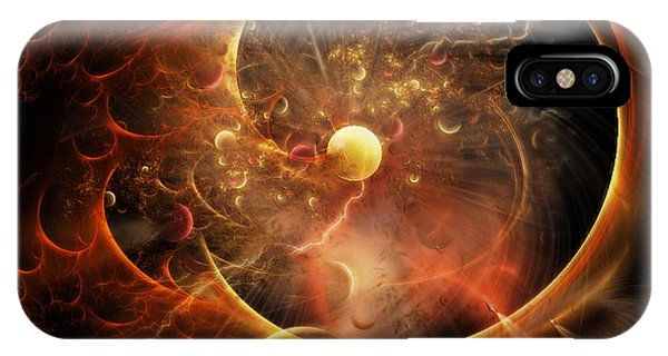 Born In The Vortex - The New Machine IPhone Case