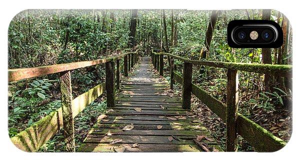 Borneo Jungle IPhone Case