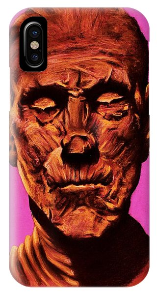 Borris 'the Mummy' Karloff IPhone Case